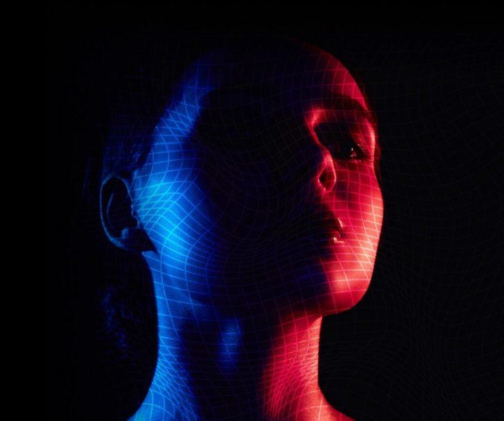 BadoinkAR volumetric captured girl 3D mapped scanned