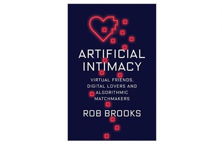 Artificial Intimacy book cover by Rob Brooks Amazon