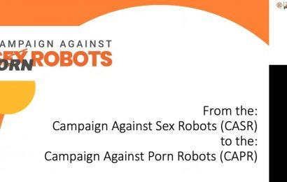 Campaign Against Sex Robots changes name